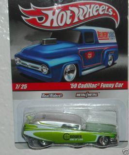 Hot Wheels Slick Rides 59 Cadillac Funny Car Delivery