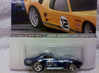 Hot Wheels Racing 2012 Road Racer James Garners COPO Corvette VHTF