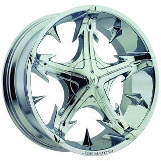 Bros Slickstar Chrome Wheels Rims 5x120 BMW 5 Series 6 Series
