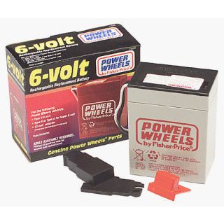 Power Wheels 6 Volt Rechargeable Replacement Battery