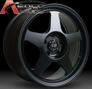 Rota Slipstream 16x8 5x100 E40 56 1 Flat Black Wheels