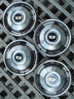Chevy Chevrolet Caprice Hubcaps Center Cap Wheel Covers
