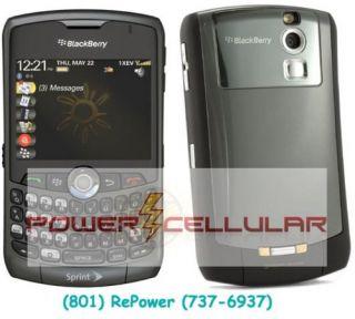 Mint Rim Blackberry Curve 8330 PDA Cell Phone Sprint