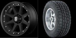 20 inch Wheels Rims Tires Black Chevy GMC Tahoe Yukon