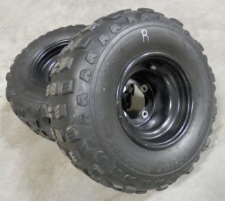 Yamaha Raptor 660 350 Rear Wheels Tires Banshee Warrior YFZ 450 ATV