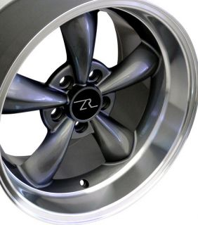 Dish Mustang ® Bullitt Wheels 17x9 17x10 5 Bullet 17 inch Rims