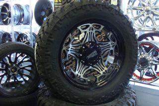 20 Moto Metal 909 Skull wheels 305 55 20 33 Nitto Trail Grappler Tires