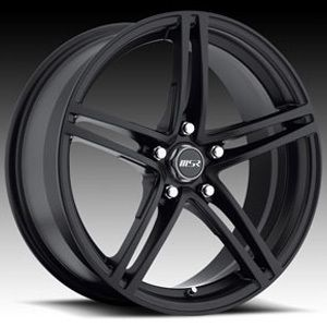 MSR 048 Rims Wheels 18 Black GTO BMW S10 Camaro Jimmy