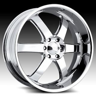 20x8 5 Boss 330 Chrome Wheel Rim 6x5 5 Sequoia Tacoma Tundra