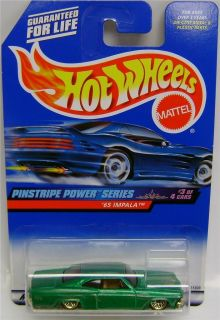 1965 Chevy Impala Pinstripe Power Hot Wheels 1 64
