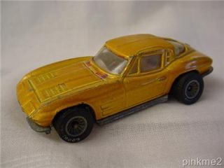 Hot Wheels Met Gold Split Window 63 Vette Real Riders