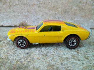 Hot Wheels Redline Mustang Stocker 1974 Flying Colors