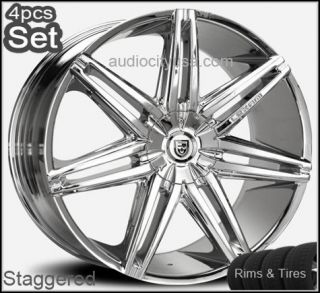 Wheels and Tires Escalade Chevy Ford QX56 RAM Rims Silverado