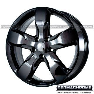 DODGE DURANGO DAKOTA 20 BLACK CHROME WHEELS   PERMACHROME   OUTRIGHT