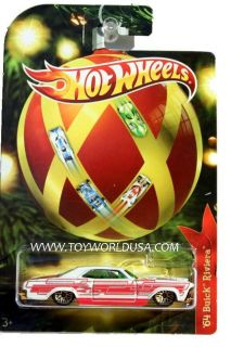 2011 Hot Wheels Holiday Hot Rods 64 Buick Riviera