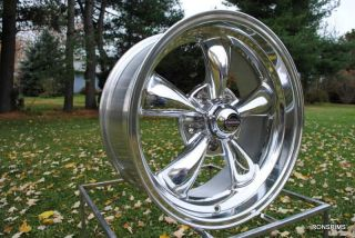15X7 REV CLASSIC WHEELS HOT ROD 5 SPOKE VINTAGE PONTIAC CHEVY BUICK