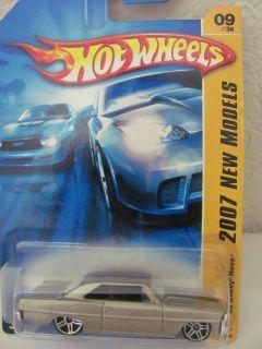 Hot Wheels 2007 09 36 66 Chevy Nova New Models Gold