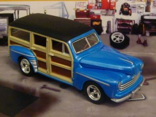 Hot Wheels 48 Ford Woody Wagon 1 64 Scale Limited Edition 4 Detailed