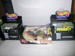 Hot Wheels Custom Classic Trucks Set, +59 El Camino & 58 Apache,No