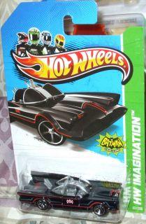 2013 Hot Wheels 62 250 Classic TV Series 66 Batmobile HW Imagination