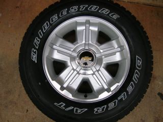 2012 Chevy 18 Silverado Tahoe Wheels and Tires New