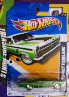 HOT WHEELS SUPER SECRET TREASURE HUNT 66 FORD 427 FAIRLANE ON LONG