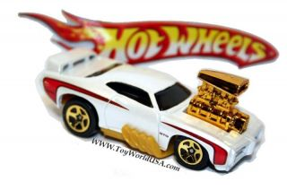 Hot Wheels 69 Pontiac GTO Judge ToonD Muscle Exclusiv