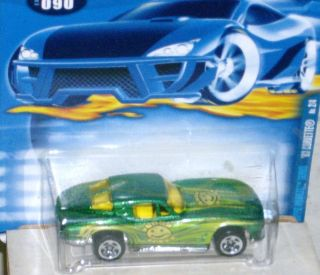2001 Hot Wheels Hippie Mobiles Series   63 Corvette Split Window