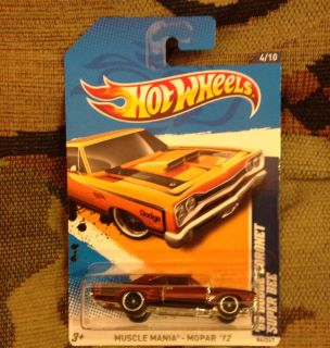Hot Wheels Super Treasure Hunt 2012 69 Dodge Coronet Super Bee