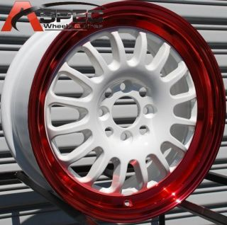 15 Rota Track R Wheels 4x100 Rim Cabrio Fox Golf Civic
