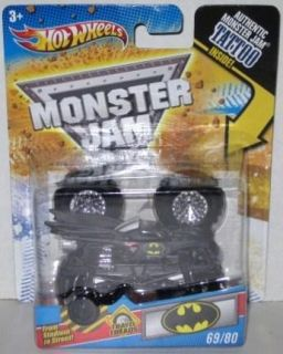 Hot Wheels Batman Monster Jam Travel Treads 1 64 Scale 69 80 Tattoo