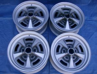 69 Pontiac GTO Judge 14x6 Ja Rally II Wheels Restored