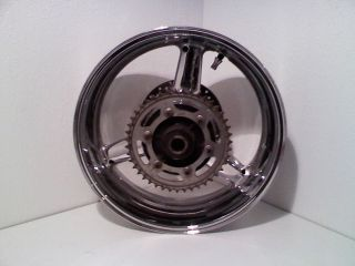 2002 Yamaha R1 Back Wheel Rear Rim Chrome 1000 02 03
