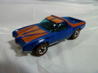 Redlines Hot Wheels 1973 Breakaway Bucket Blue