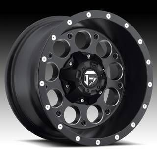Offroad Revolver 15x8 Black 15x10 Wheel Set Truck Rims Wheels