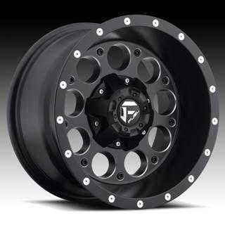 Offroad Revolver 15x8 Black 15x10 Wheel Set Truck Rims Wheels