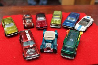 LOT OF 9 HOT WHEELS 1967 69 RED LINE CARS 1969 VOLKSWAGON BEACH BOMB