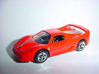 Red Ferrari F50 Official Diecast Metal Replica 1 64 Hotwheels
