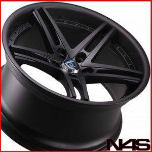Volkswagen VW Tiguan Rohana RC5 Matte Black Concave Wheels Rims