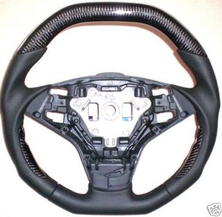 BMW E61 E64 M5 M6 Carbon Fibre Custom Sport Steering Wheel
