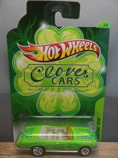 2012 HOT WHEELS 1 64  EXCLUSIVE CLOVER CARS 1967 PONTIAC GTO