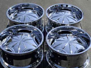 65 Chrome Wheels Chevrolet Camaro Blazer Firebird Caprice Rims