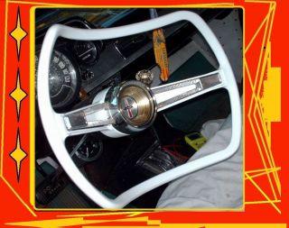 KUSTOM GM STEERING WHEELs corvette truck 57 66 vtg tires sbc harley