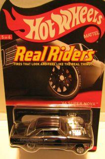 66 SUPER NOVA GASSER Hot Wheels RLC 5 6 Series 11 R Riders 3638 4000