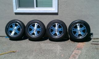 Ford F150 Wheels and Tires 275 65 18 6 Lug