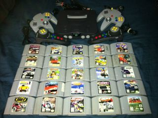 Nintendo 64 (N64) 25 Racing Games Lego Hot Wheels RUSH GT64 Roadsters