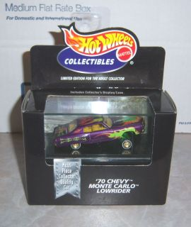 Wheels Collectibles   70 Chevy Monte Carlo Lowrider (Purple)  164