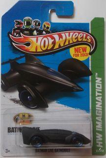 2013 Hot Wheels HW IMAGINATION Batman Live Batmobile 65/250 (Black