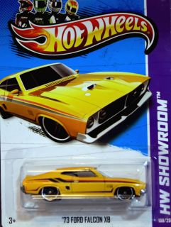 Hot Wheels 73 Ford Falcon XB ★ 2012 HW Showroom Garage VHTF
