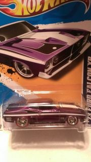 Hot Wheels 2012 Super Treasure Hunt 73 Ford Falcon XB Mint Condition